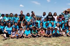 Pecos-Pueblo-with-Jemez-San-Diego-Riverside-Charter-School-Children-Visit-by-Lt.-Yepa