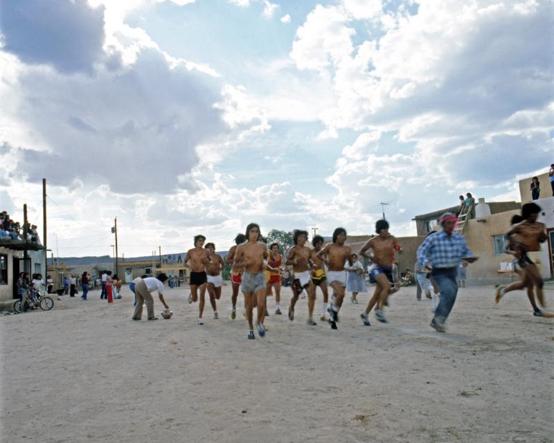 Runners of Jemez Pueblo
