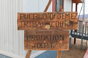 Tribal Court Sign